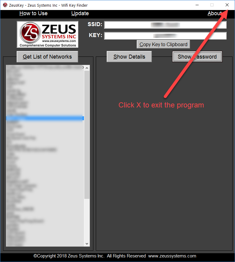 Recover Wifi Password Free Download - ZeusKey - Easy to Use